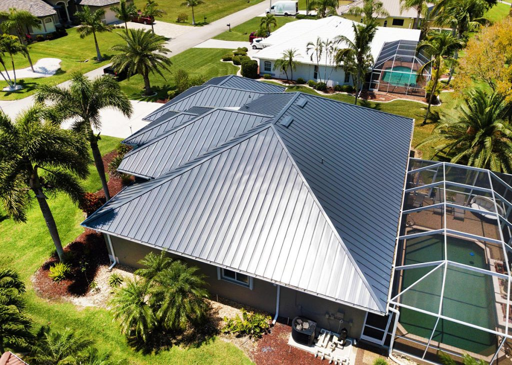 Metal Roof Installation in Cape Coral Florida