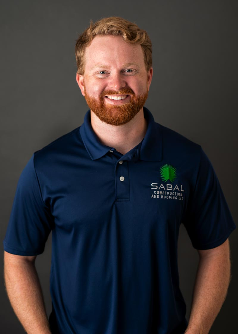 Kyle Beauvois, Restoration Consultant of Sabal Construction and Roofing